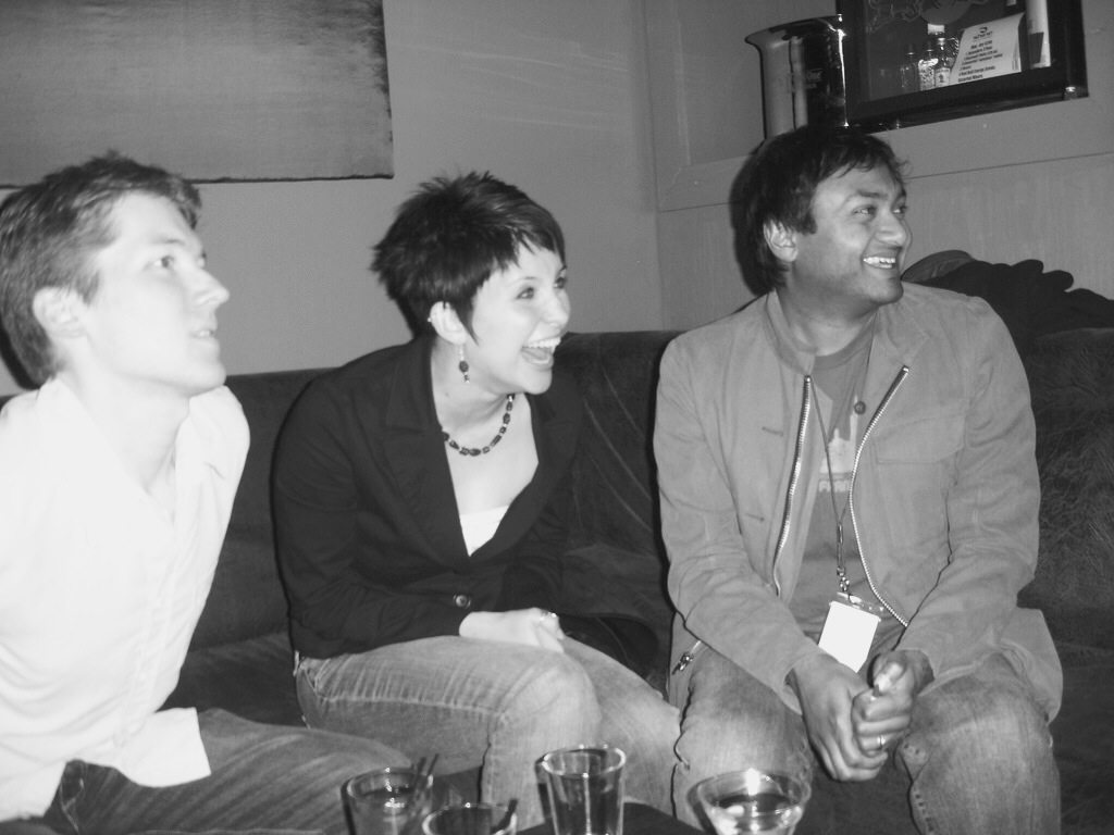 Nish (far right) at a Yelp Elite event in San Francisco in 2006