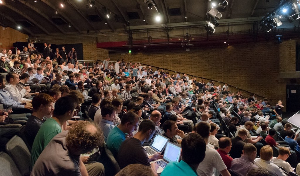 The MongoDB User Conference in London, while I was stationed in EMEA, 2012