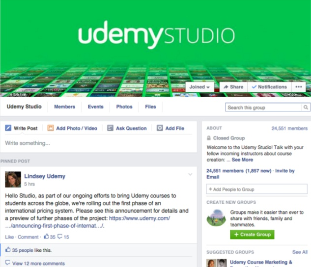 udemy studio cmx