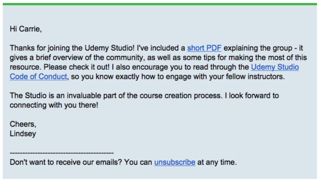 How Udemy Increased their Instructor Engagement Rates by 4X