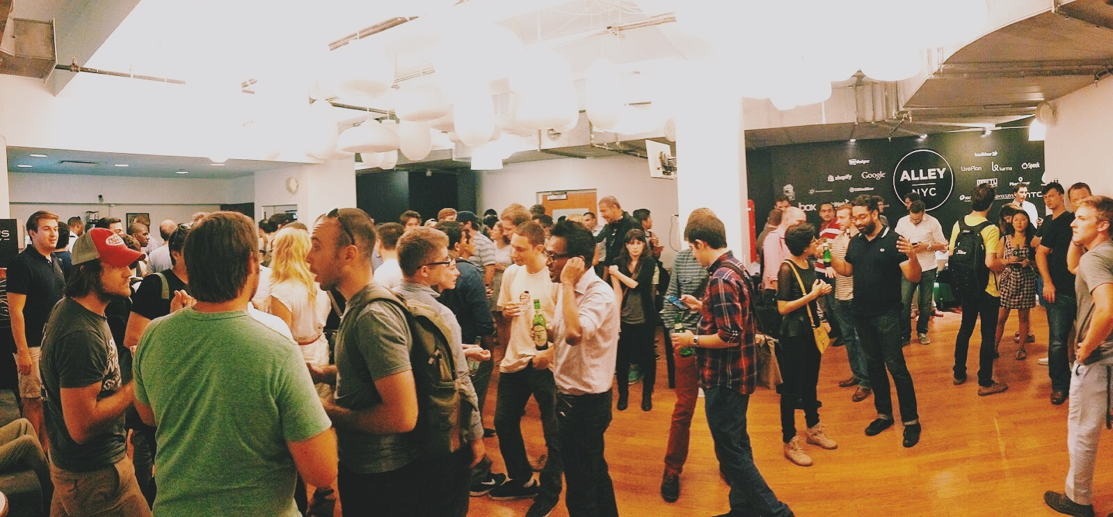 An Image from the Product Hunt Meetup in NYC