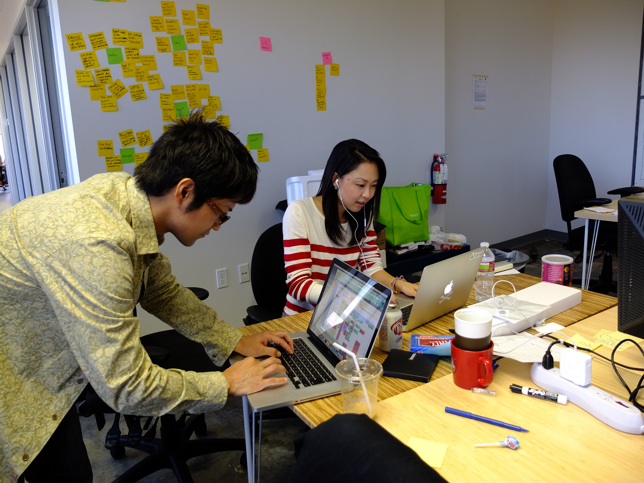 500 Startups Team Members Hard at Work