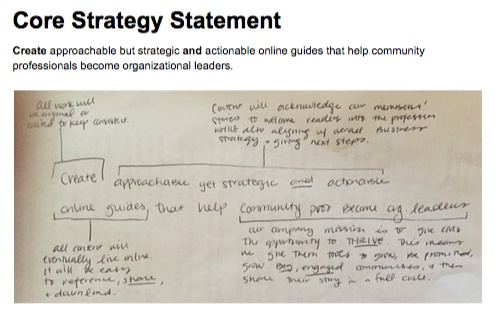 CMX Content Strategy Statement Draft