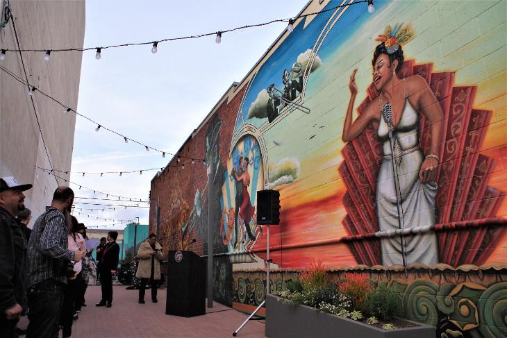 Arts District murals - photo by joey zanotti