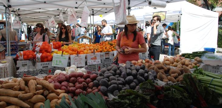 Silverlake farmers market, photo by collectmoments